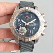 Réplica Breitling Avenger Bandit E1338310.M534.253S.E20DSA.2 Mostrador de titânio antracite